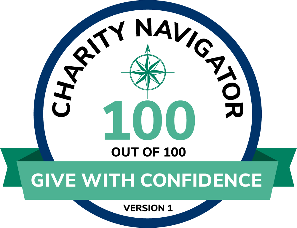 Charity Navigator Encompass GiveWithConfidence 100