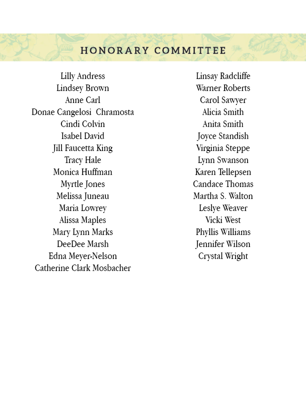 Honorary Committee