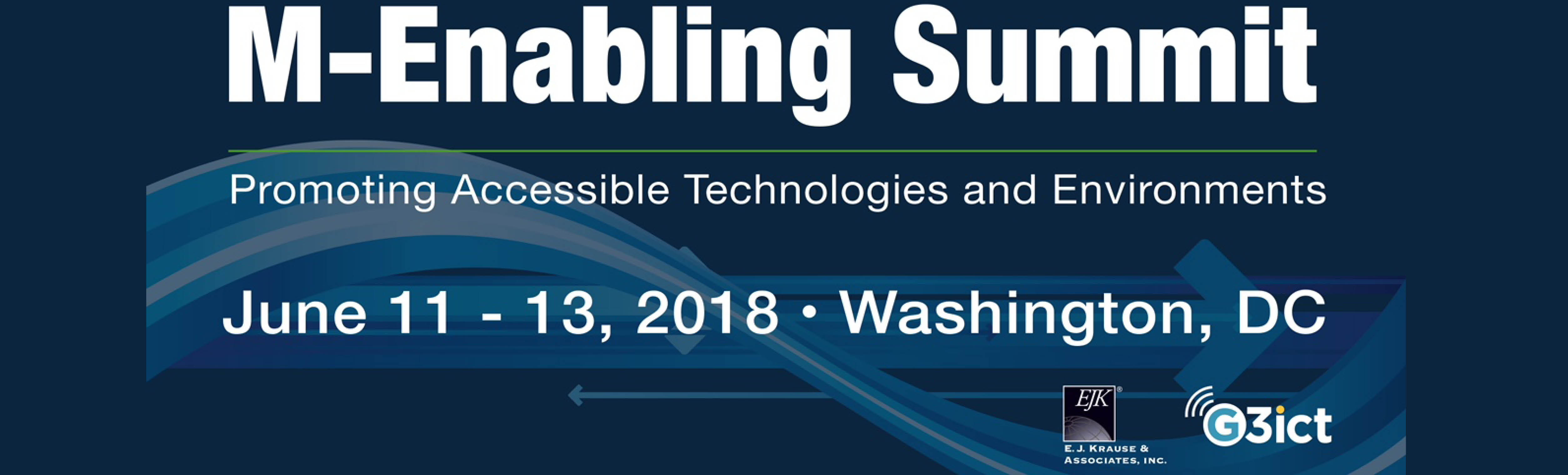 Sign up for the M-Enabling Summit taking place in Washington, DC!
