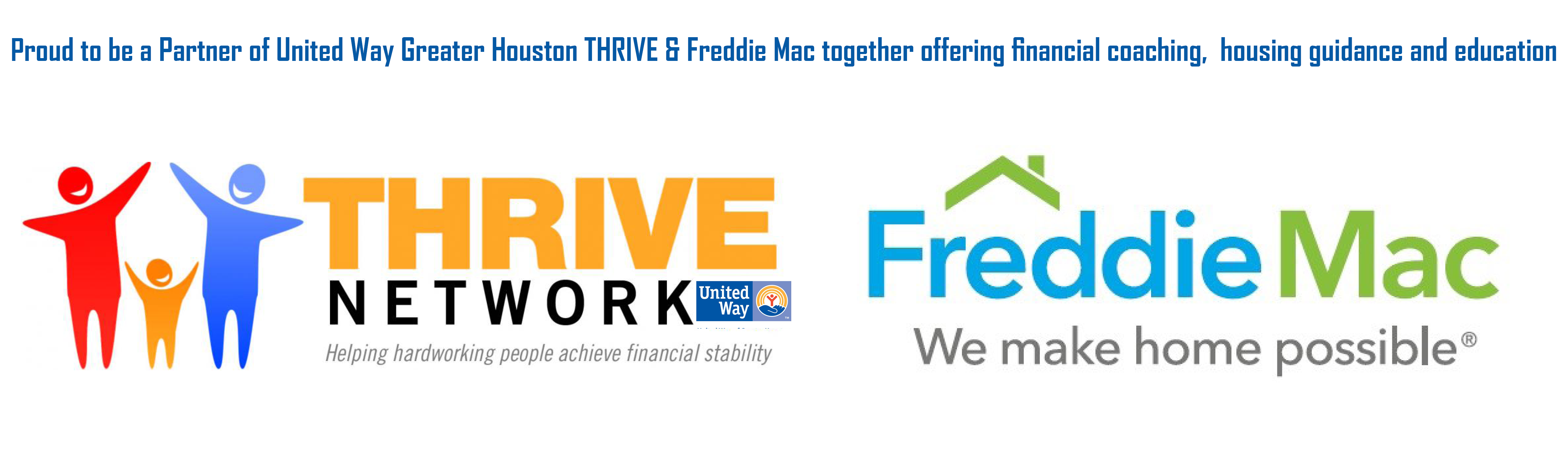 United Way Greater Houston THRIVE & Freddie Mac